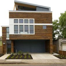 Modern Exterior by Ivon Street Studio
