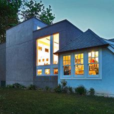 Modern Exterior by Joseph Bergin Architect PC