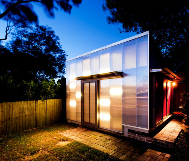 Contemporary Exterior by Eoghan Lewis Architects