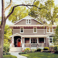 Craftsman Exterior by Morgante Wilson Architects