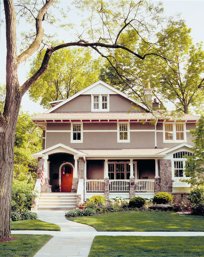 traditional exterior by Morgante Wilson Architects