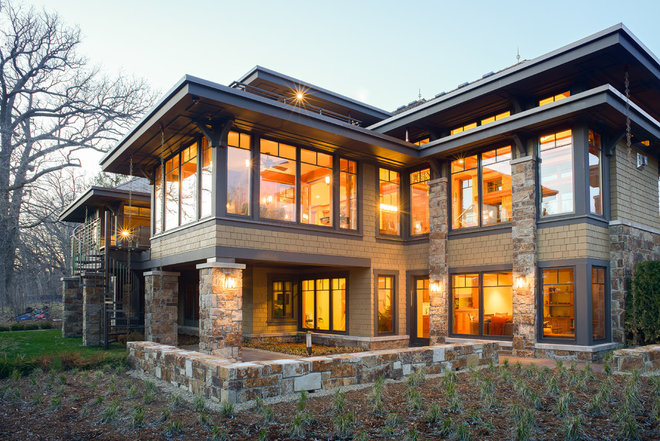 Craftsman Exterior by SKD Architects
