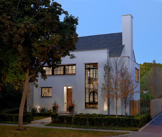 Eclectic Exterior by Searl Lamaster Howe Architects