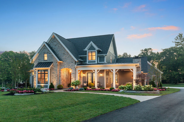 Traditional Exterior by Wieland Builders LLC