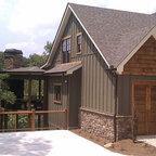 Asheville Mountain Home House Plan Traditional