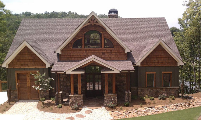 Traditional Exterior by Max Fulbright Designs