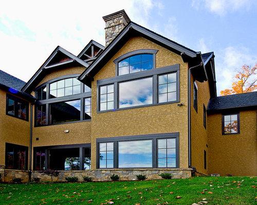 Modern tudor home for Modern tudor house