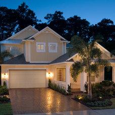 Tropical Exterior by Davis Bews Design Group