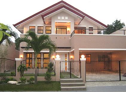 Asian Exterior asian house