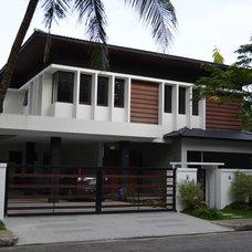 Asian Exterior by C.B.Dizon Construction, Inc.