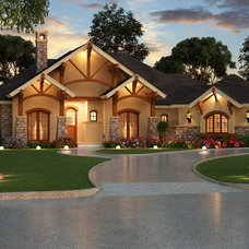 Traditional Exterior by Dallas Design Group