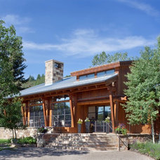 Rustic Exterior by Savant Design Group