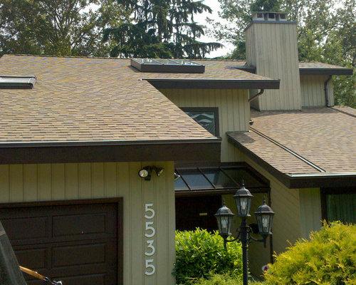 Asphalt Shingles Certainteed Landmark Heather Blend Roof