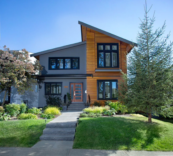 Contemporary Exterior by Klondike Contracting