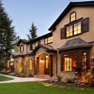 Atherton, California Estate II by Markay Johnson Construction