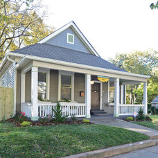 Traditional Exterior by Carl Mattison Design