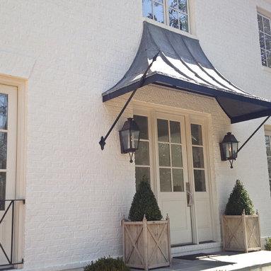 Lime wash brick exterior design ideas pictures remodel and decor - Lime wash paint exterior design ...