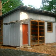 Modern Exterior by Mark Davis Design