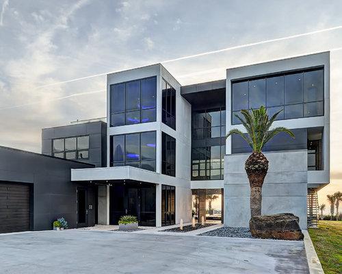 Contemporary jacksonville exterior home design ideas for Modern house jacksonville