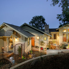 Traditional Exterior by Sage Architecture, Inc.