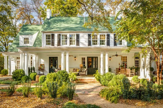 Traditional Exterior by Dullea and Associates Inc.