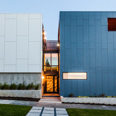 Contemporary Exterior by Dale Tu Photography