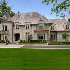 Traditional Exterior by Taylor Design Group