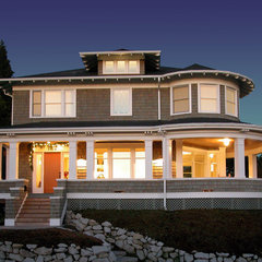traditional exterior by TCA Architecture Planning