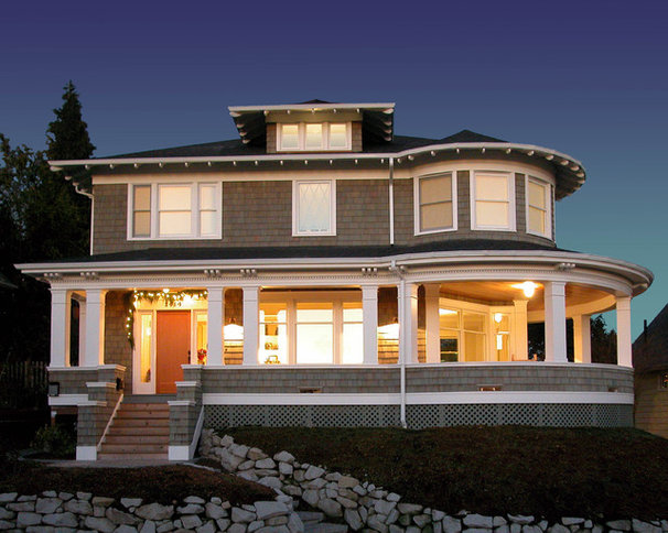 Traditional Exterior by TCA Architecture