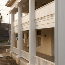 Traditional Exterior by Volz O'Connell Hutson