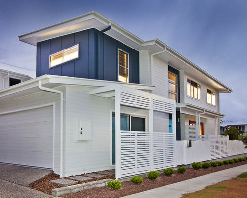 Best beach style exterior design ideas remodel pictures for Exterior paint ideas australia