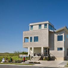 Beach Style Exterior by McCoubrey/Overholser, Inc.