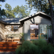 Midcentury Exterior by Merzbau Design Collective