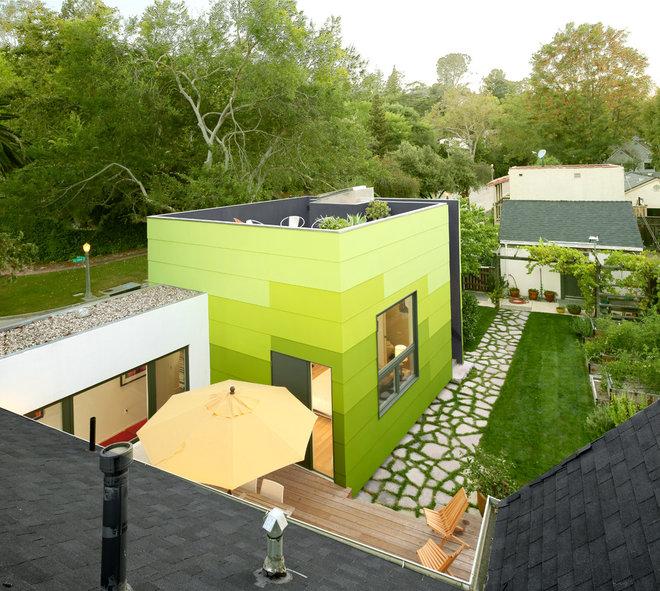 Contemporary Exterior by OKB Architecture