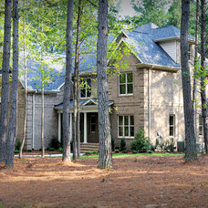 Farmhouse Exterior by Collins Design-Build, Inc.