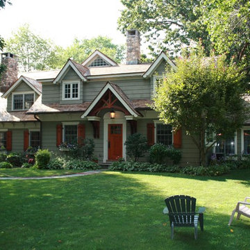 Award-Winning Cape Cod Renovated into Craftsman Style Home