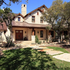 Traditional Exterior by SILVERTON CUSTOM HOMES
