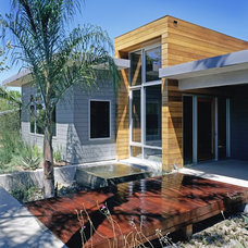 Contemporary Exterior by Gus Duffy AIA