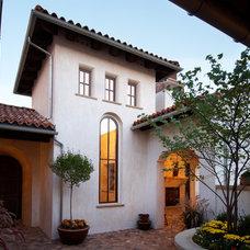 Mediterranean Exterior by Godden Sudik Architects Inc