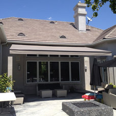 Traditional Exterior by Calshades and Awnings, Inc