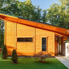 Contemporary Exterior by Anthemion Architecture LLC