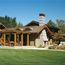 Traditional Exterior by BraytonHughes Design Studios