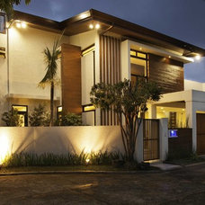 Contemporary Exterior by Buendia Design Architects