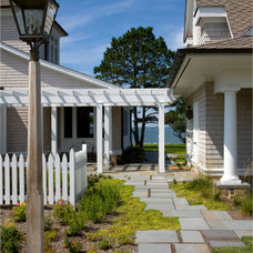 Traditional Exterior by Vincent Greene Architects