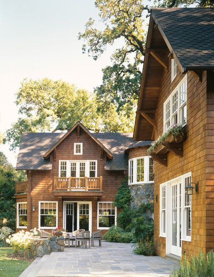 Traditional Exterior by ZAK Architecture