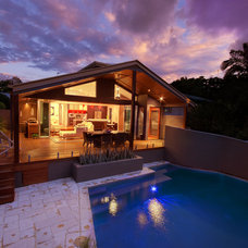 Contemporary Exterior by Adrian Ramsay Design House