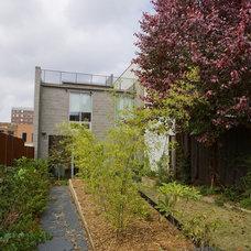 Contemporary Exterior by Erdreich Architecture, P.C.