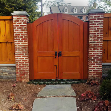 Backyard Custom Cedar Gate