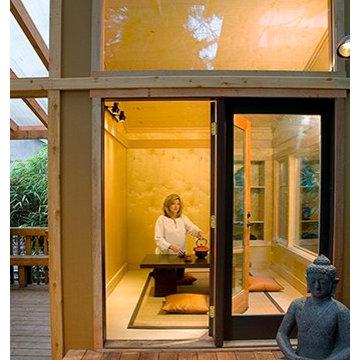 backyard meditation retreat