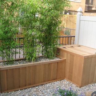 Backyard Planter and Mechanical Housing